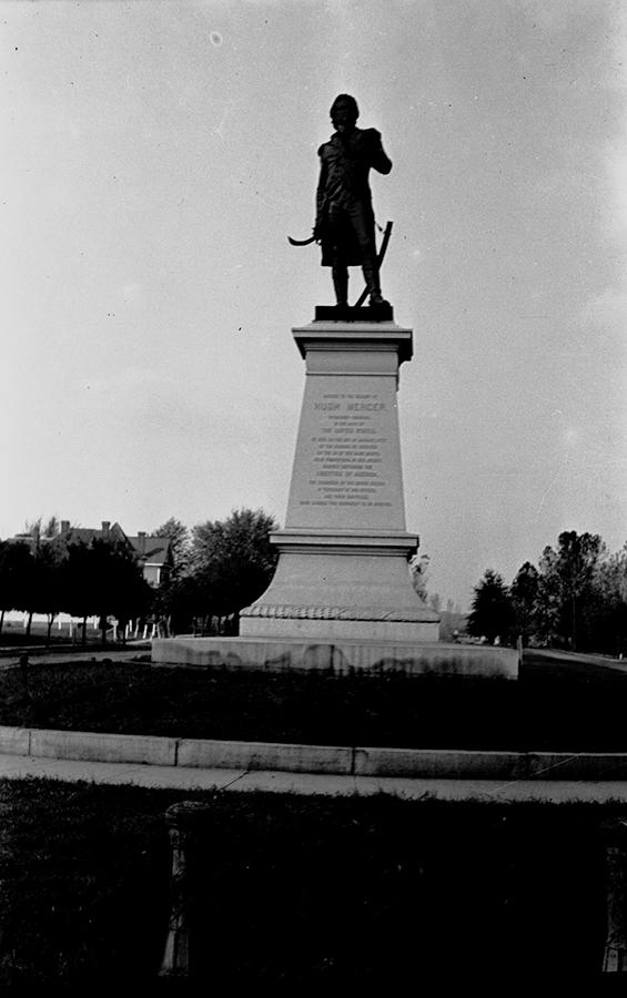 Hugh Mercer Monument, Fredericksburg, VA.